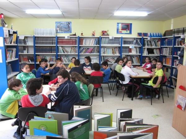 Alumnos de sexto curso do CEP Marcos da Portela