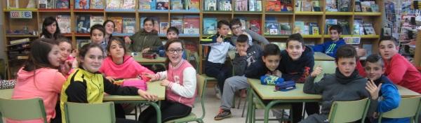 Alumnado do CEIP de Santo André de Xeve