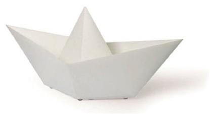 Barquiño papel